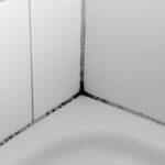 oranje aanslag douche